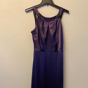 Like new Vera Wang purple dress